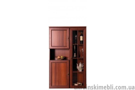 Витрина со шкафом для белья №4 (Гостиная Виктор)