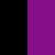 черный/ фиолетовый