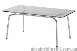 Стол HELLO table duo chrome GL