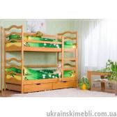 Кровать двухъярусная (без ящиков)